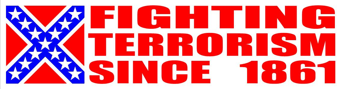 Fighting Terrorism Sticker